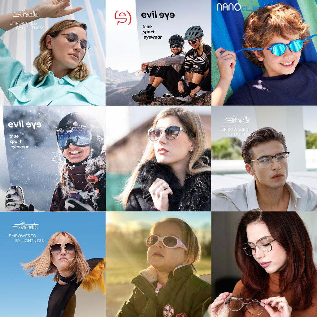 Amm kolekcije sončna očala, okvirji